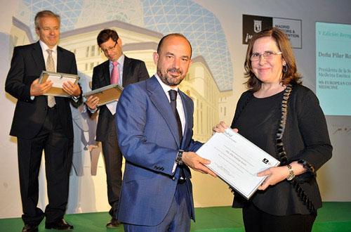 La SEME ha sido premiada por el Ayuntamiento de Madrid