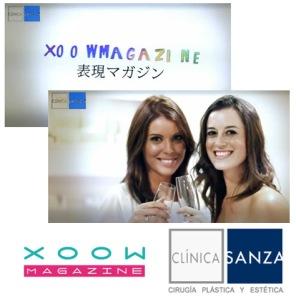 Clínica Sanza presenta el número 27 de XoowMagazine en sus instalaciones de Barcelona