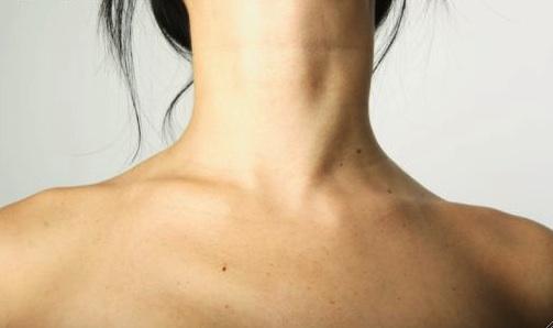 cuello arrugas